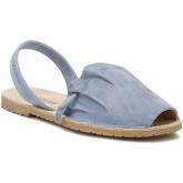 Sandales Solillas Womens Navy Volant Sandals