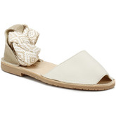 Sandales Solillas Womens Cream Lilia-Tribal Ankle Tie Sandals