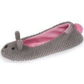 Chaussons Isotoner Chaussons ballerines femme chat