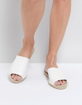 Truffle Collection - Espadrilles mules - Blanc