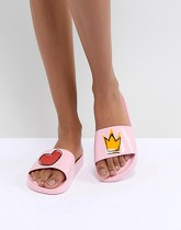 Vivienne Westwood For Melissa - Mules Prince Charmant - Rose - Rose