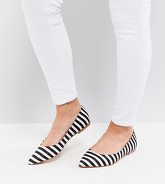 ASOS - LATCH - Ballerines larges et pointues - Multi