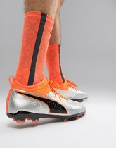 Puma Football - One 2 - Chaussures de football pour terrain dur - Argenté - Argenté