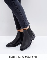 ASOS - ABSOLUTE - Bottines chelsea en cuir - Noir
