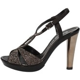 Sandales Phil Gatier By Repo sandales noir satin strass AC791