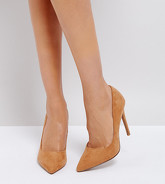 ASOS DESIGN - Paris - Chaussures pointues à talons hauts - Beige