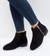 ASOS - ACCUSED - Bottines larges - Noir
