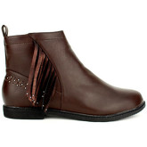 Boots Cendriyon Bottines Marron Chaussures Femme