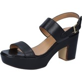 Sandales Shocks sandales noir cuir BY398