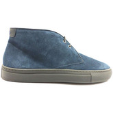 Chaussures Alberto Guardiani bottines bleu daim zx617