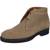 Boots Alexander bottines beige daim BY452