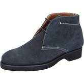 Boots Alexander bottines bleu daim BY454