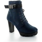 Bottines 226 Shoes Bottine compensée Milly Marine