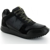 Chaussures No Name Basket COSMO MID Noir et Or