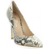 Chaussures escarpins Essedonna Escarpins cuir python naturel