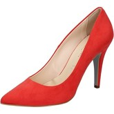 Chaussures escarpins Bottega Lotti escarpins rouge corallo daim BZ963