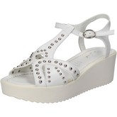 Sandales Fascino Donna FASCINO sandales blanc cuir clous AE43