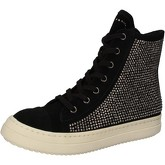 Chaussures Twin Set TWIN-SET sneakers noir daim strass AE840