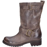 Bottines Trend bottines marron cuir AJ409