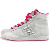 Chaussures Cult sneakers gris daim rose fucsia AH885