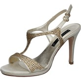 Sandales Bacta De Toi sandales platino satin strass BY95