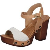 Sandales Made In Italia sandales marron beige cuir BY512