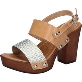 Sandales Made In Italia sandales platino cuir marron BY516