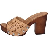 Sandales Made In Italia sandales zoccoli marron cuir BY521