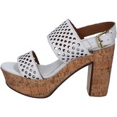 Sandales Shocks sandales blanc cuir BY394