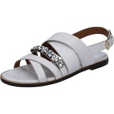 Sandales Shocks sandales blanc cuir BY404