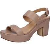Sandales Shocks sandales beige cuir BY399