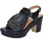 Sandales Shocks sandales noir cuir BY400