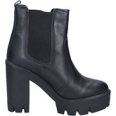Bottines Made In Italia bottines noir cuir BX758