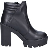 Bottines Made In Italia bottines noir cuir BX759
