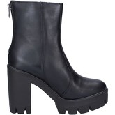 Bottines Made In Italia bottines noir cuir BX760