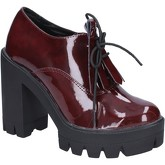 Bottines Olga Rubini bottines bordeaux cuir verni BX808