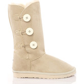 Bottes neige Antarctica BOUTONS AWB1928 BEIGE