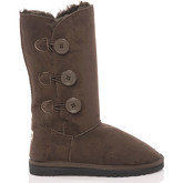 Bottes neige Antarctica BOUTONS AWB1987 BROWN