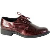 Chaussures The Divine Factory Chaussure Derby Bordeaux