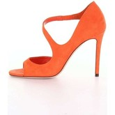 Chaussures escarpins Jimmy Choo DAWES100 Sandales Femme Orange