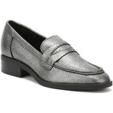 Chaussons Tower London TOWER London Womens Silver Pulverized Leather Loafers