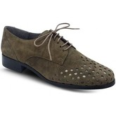 Chaussures Folies Derby Plat Taupe