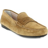 Chaussures Triver Flight mocassins camel