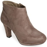 Bottines La Modeuse Low boots Hype taupe