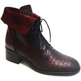 Bottines PintoDiBlu Boots plates Rouge