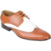 Chaussures Kebello Chaussures Bi-colore H Marron