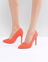 ASOS DESIGN - Paris - Chaussures pointues à talons hauts - Rose