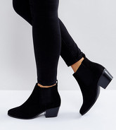ASOS DESIGN - Revive - Bottines chelsea larges - Noir