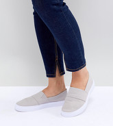 ASOS DESIGN - Dodger - Tennis pointure large - Gris