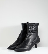 Free People - Marilyn - Bottines pointues à talons bobines - Noir